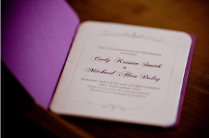 wedding program by redshoes26 design