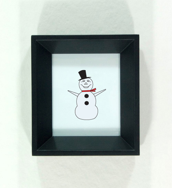 North St. Paul Snowman illustration by redshoes26 design
