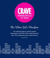 CRAVE Minneapolis guide, due out in mid November