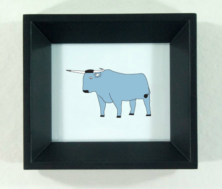 Babe the Blue Ox illustration by redshoes26 design