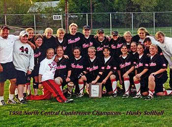 Husky Softball team 1998 - North Central champs, yo!