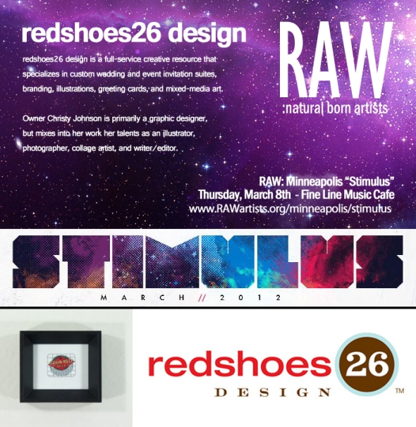 redshoes26 design at RAW: Stimulus