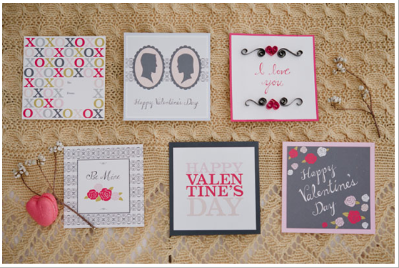 valentine-themed stationery by redshoes26 design (photo by Jeff Loves Jessica)