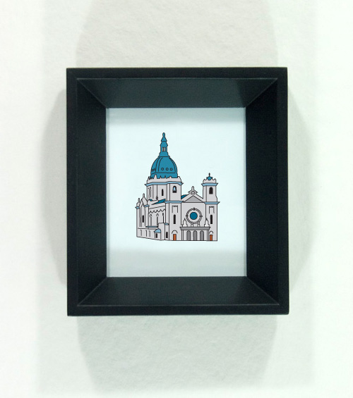 Basilica of St. Mary - Minnesota Icon by redshoes26 design
