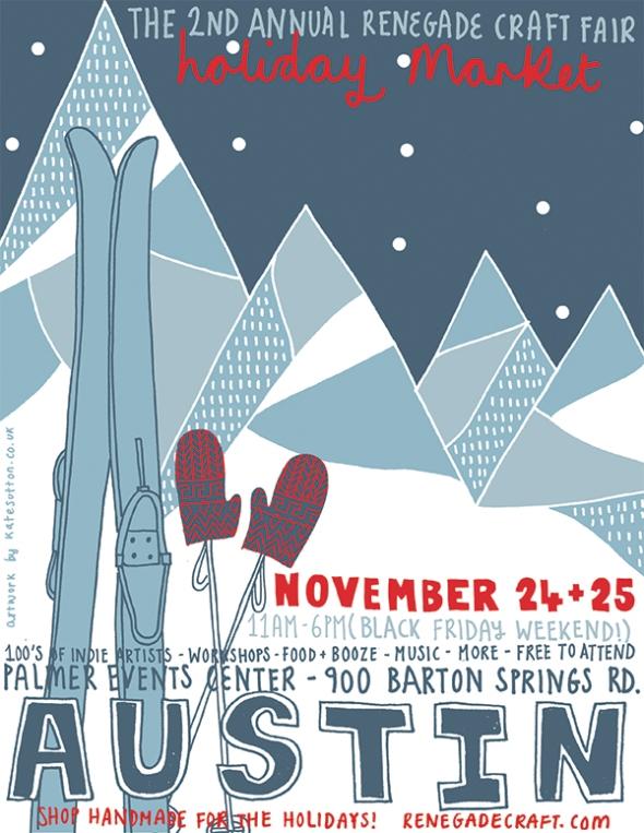 Renegade Craft Fair poster