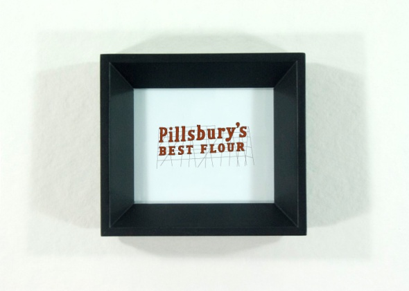 Pillsbury's Best Flour Sign, Minnesota Icon by redshoes26 design
