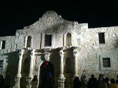 What?! There's no basement in The Alamo?!
