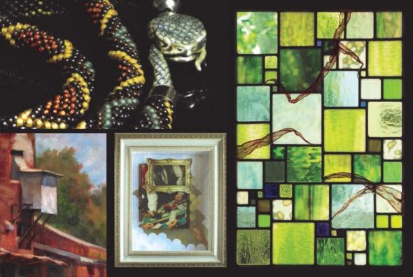 Clockwise from upper left: Brenda Brousseau, J.A. Geiger Studio, Christy Johnson, Tracie Thompson