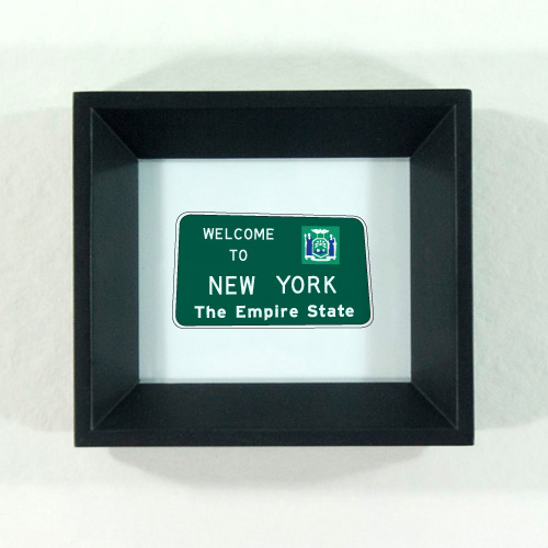 Welcome to New York Sign, New York Icon by redshoes26