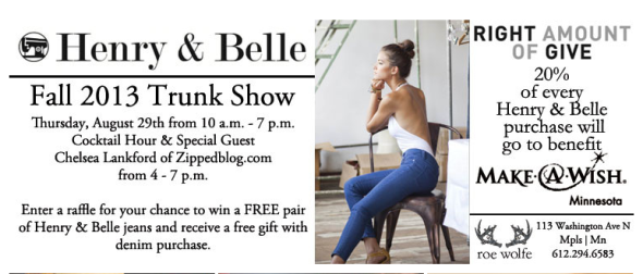 trunk show info