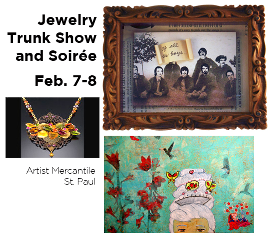 trunk show at artist mercantile