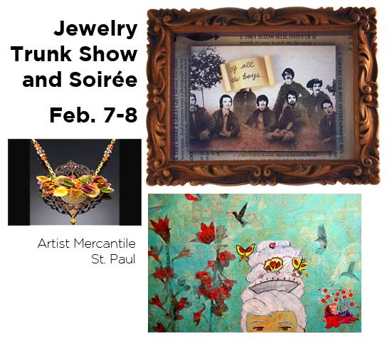 trunk show at artist mercantile